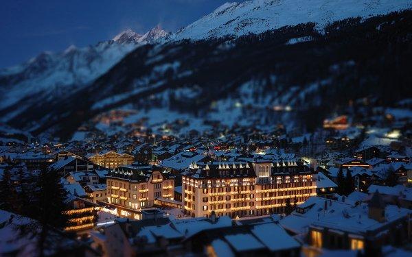 Man Made Zermatt Towns Switzerland HD Wallpaper   Background Image