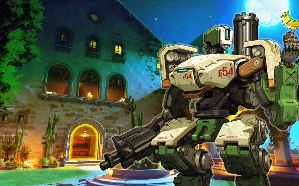 Video Game Overwatch Bastion HD Wallpaper | Background Image