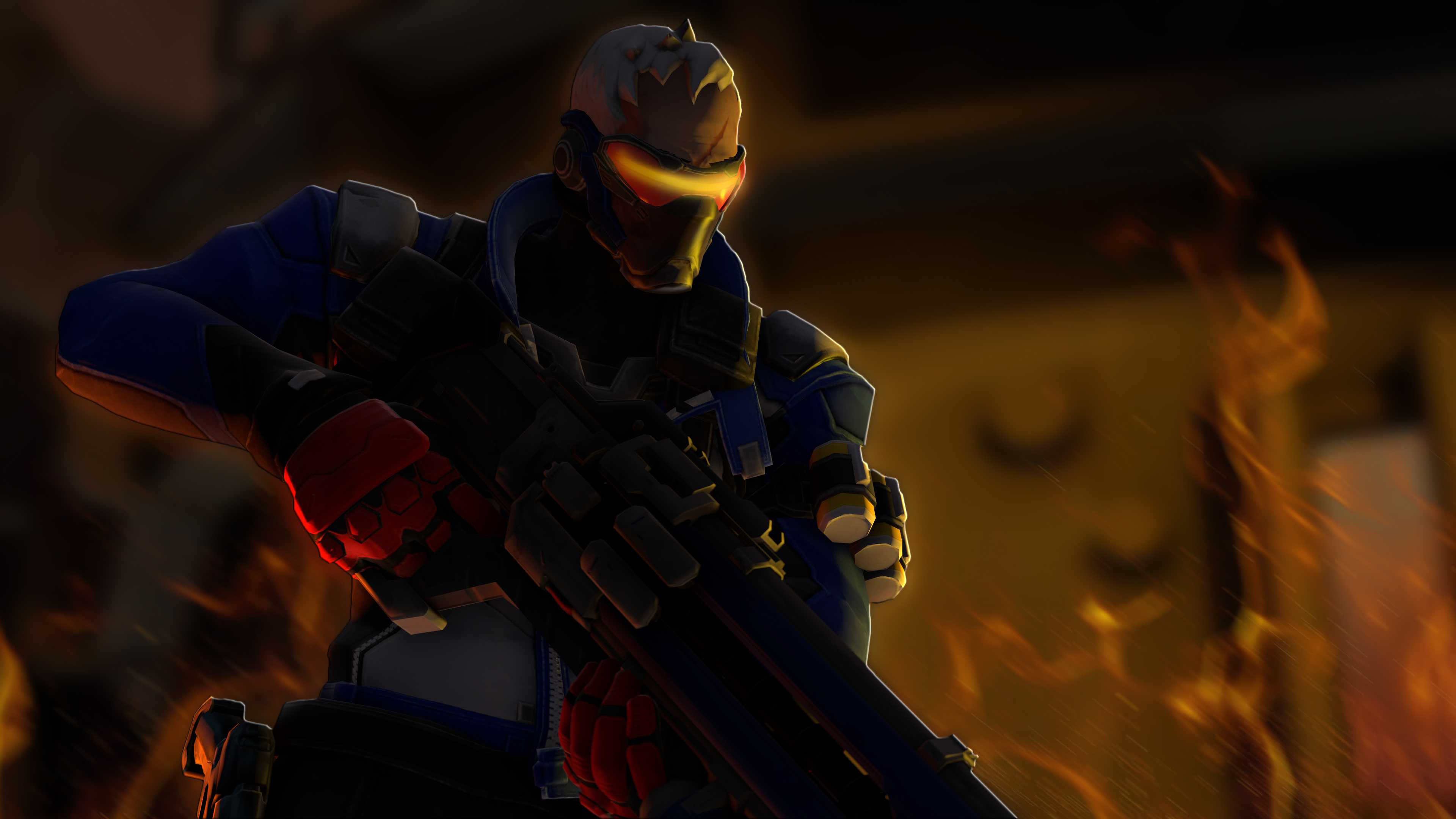 90 Soldier: 76 (Overwatch) HD Wallpapers | Background Images
