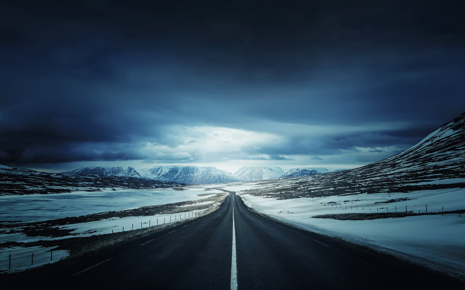 Iceland S Ring Road Wallpapers: Road In Iceland HD Wallpaper