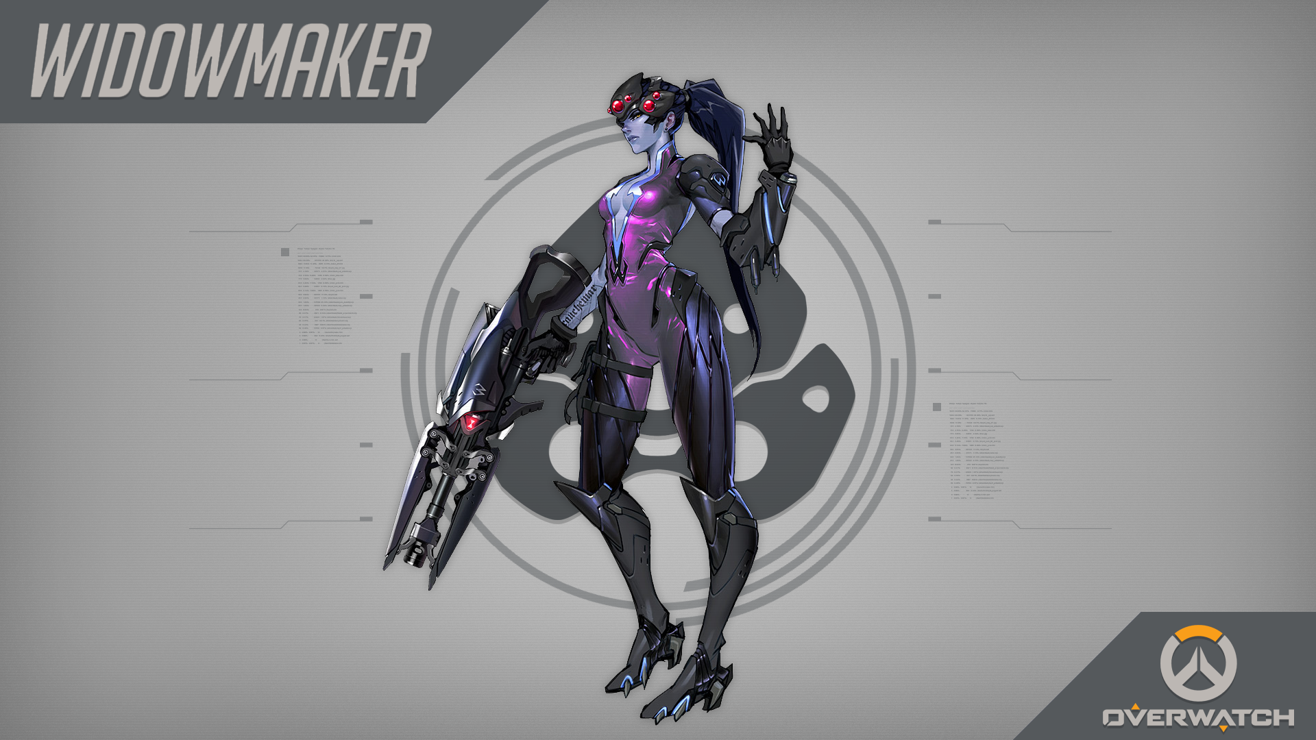 widowmaker overwatch wallpaper 1920x1080 - photo #43