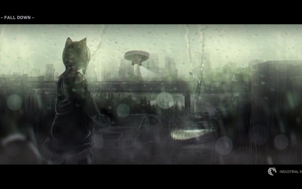 Anime Original Cat Girl HD Wallpaper | Background Image