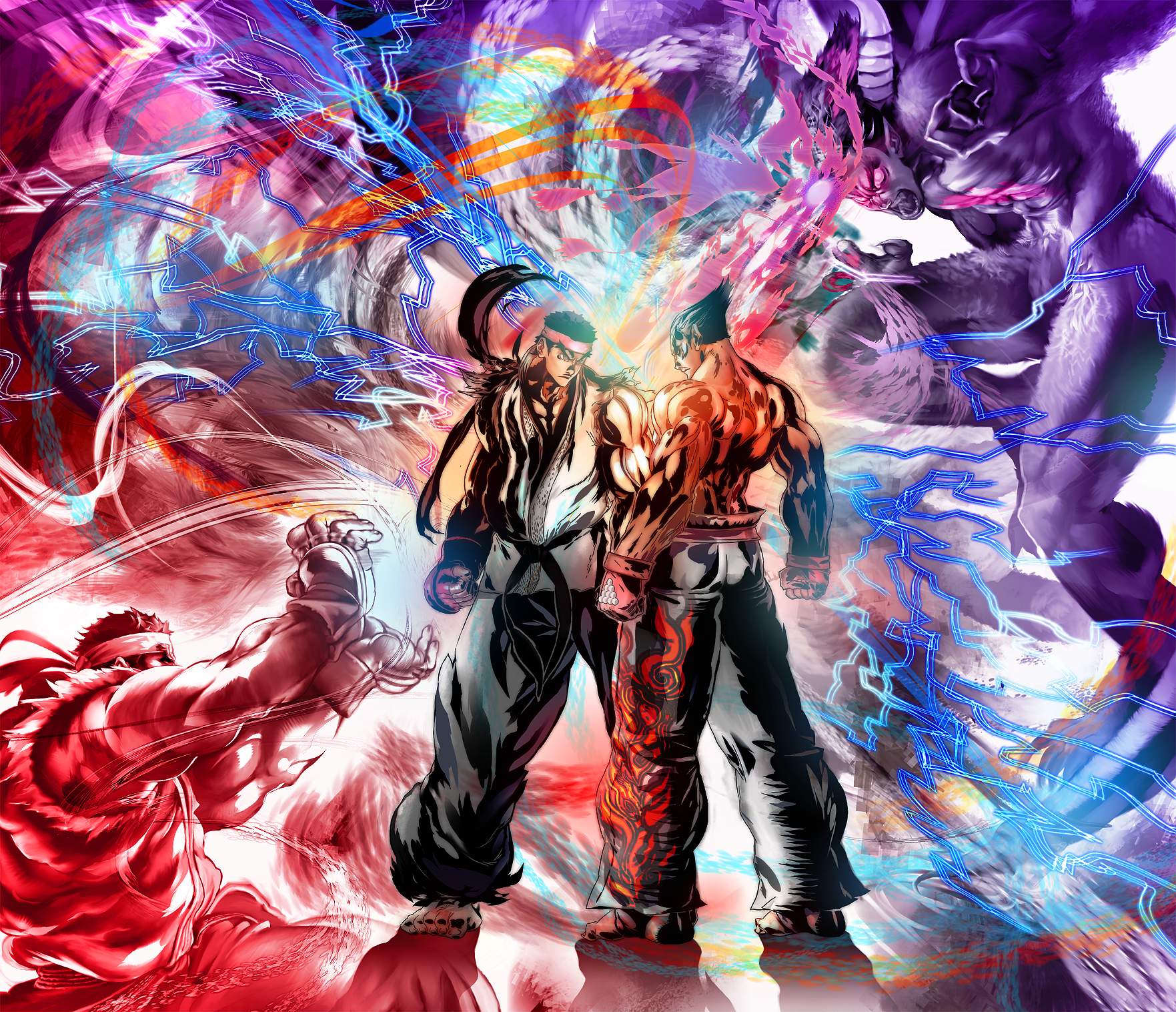 5 Street Fighter X Tekken Hd Wallpapers Background Images Wallpaper Abyss