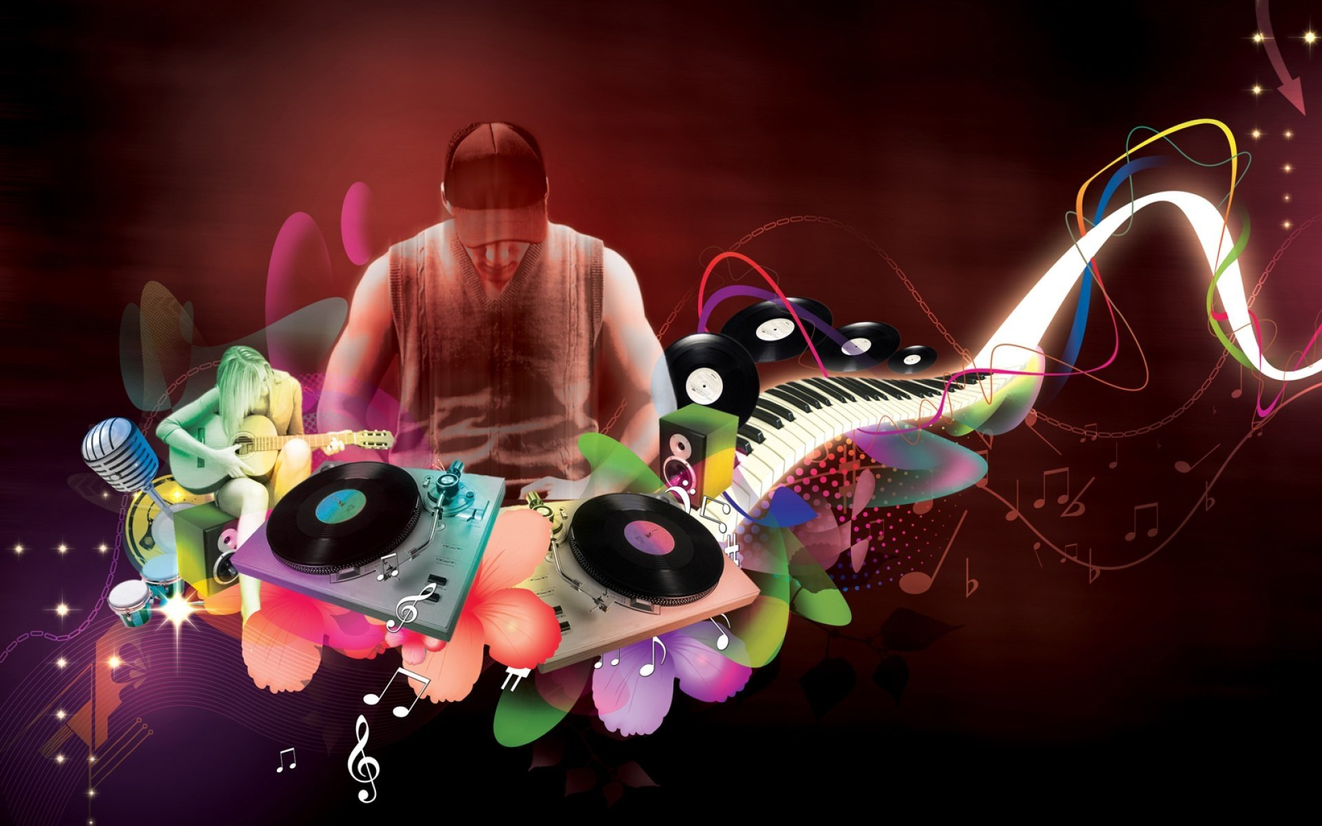 Music - DJ  Electronic Music Wallpaper