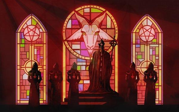 Music Ghost B.C. Band (Music) Sweden Heavy Metal Hard Rock Dark Pentagram Occult HD Wallpaper | Background Image