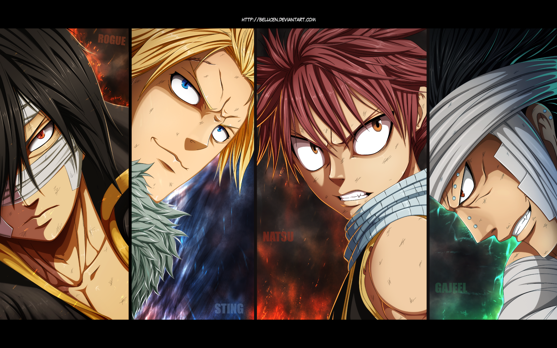 Fairy Tail - Dragonslayers Full HD Wallpaper and ...