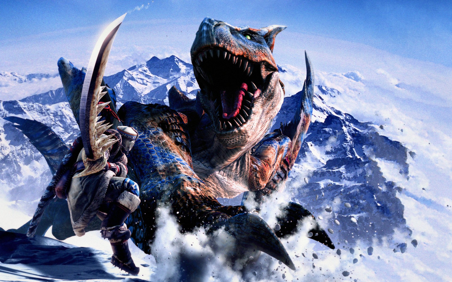 Monster Hunter Rathalos HD Wallpaper