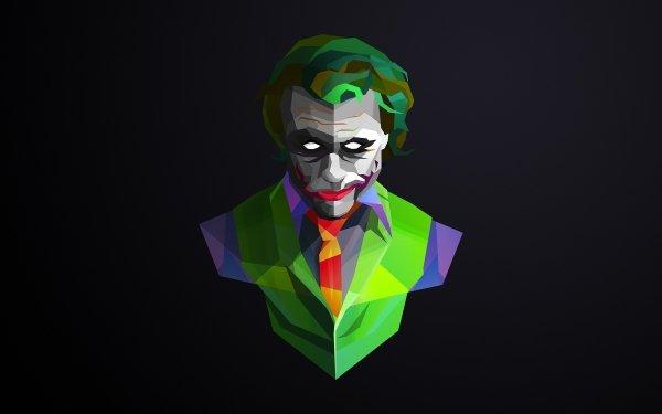 Abstract Facets Joker Comics DC Comics HD Wallpaper | Background Image