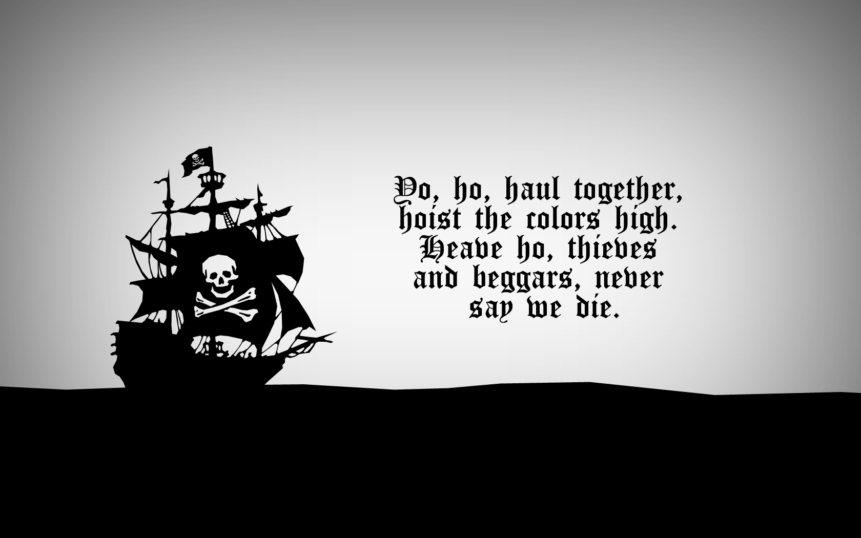 Hacker wallpaper and background image 1680x1050 id 71401 wallpaper abyss - Pirate background ...