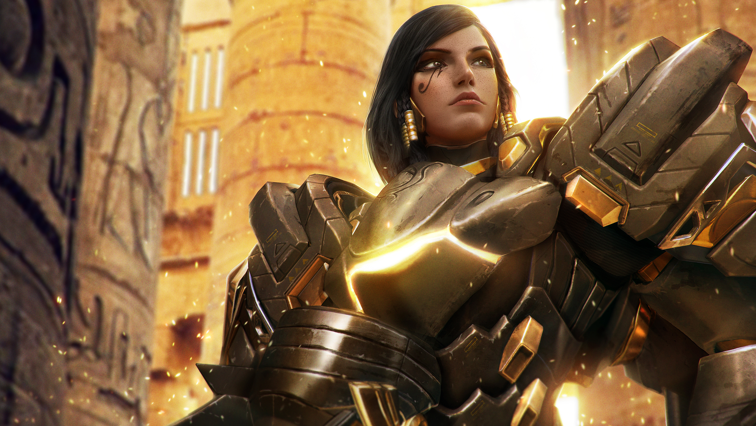93 Pharah Overwatch Hd Wallpapers Background Images Wallpaper