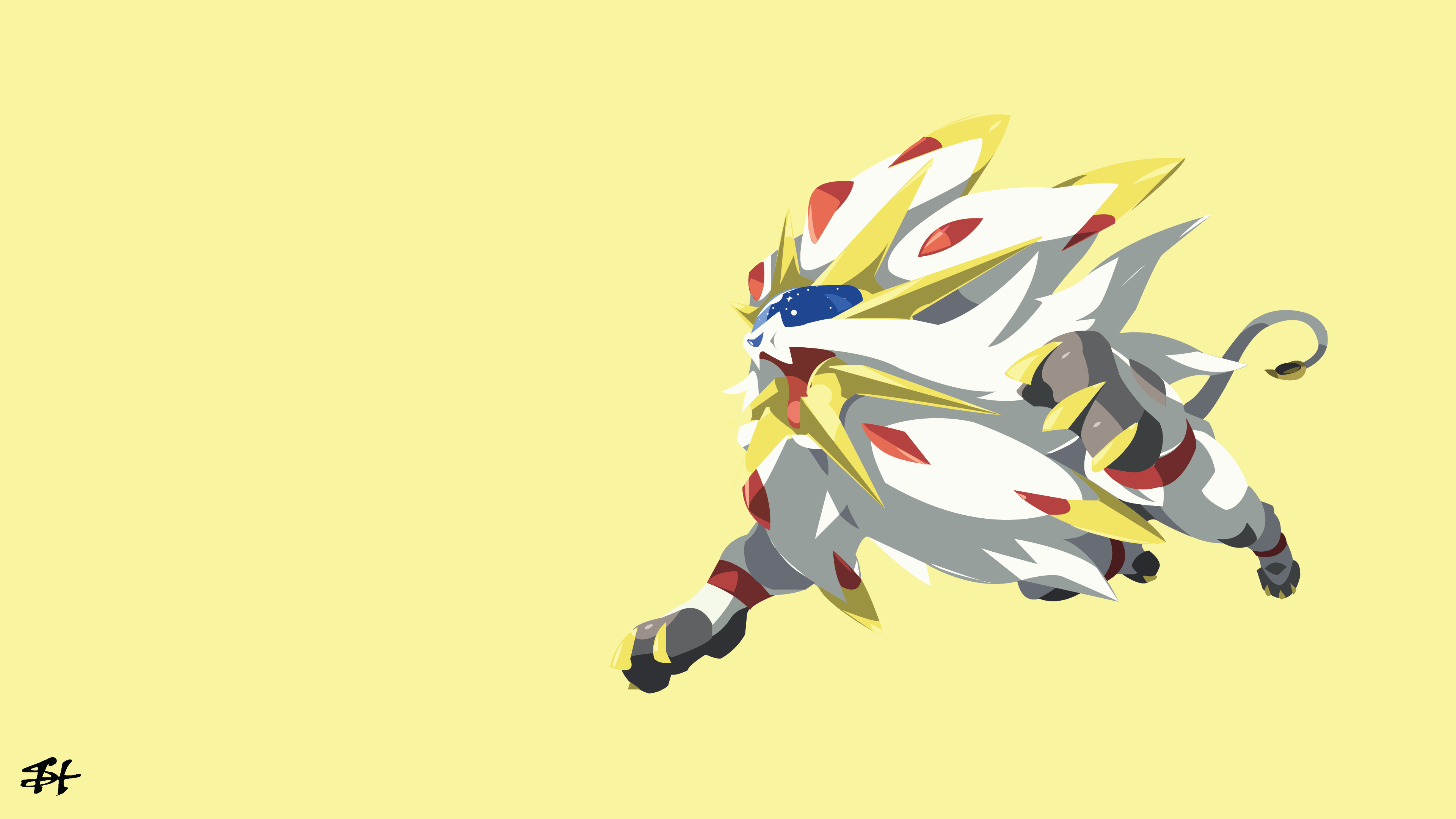 Pokemon Sun And Moon Wallpaper: Solgaleo 4k Ultra HD Wallpaper And Background Image