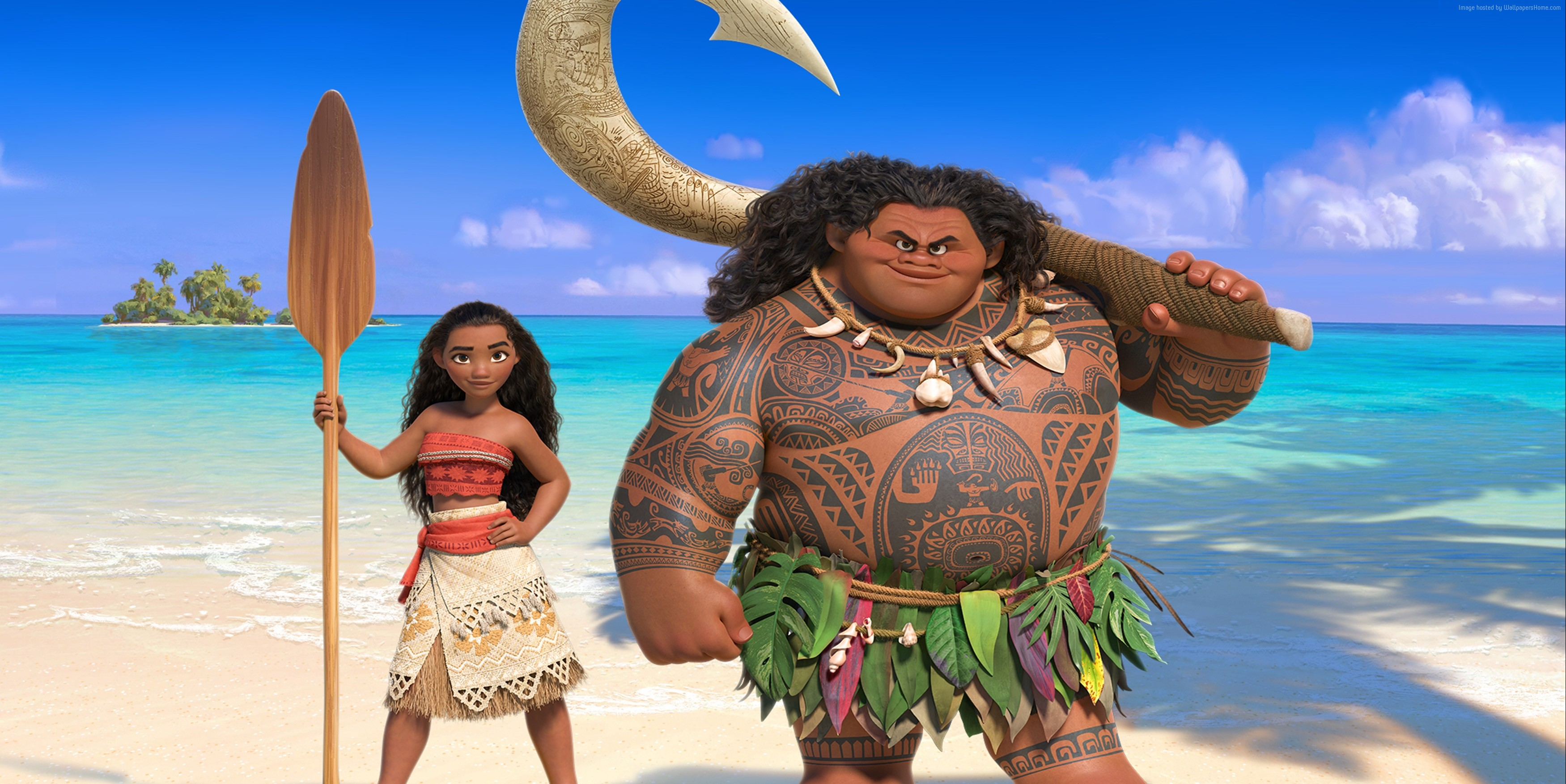 33 Moana Movie Hd Wallpapers Background Images Wallpaper Abyss