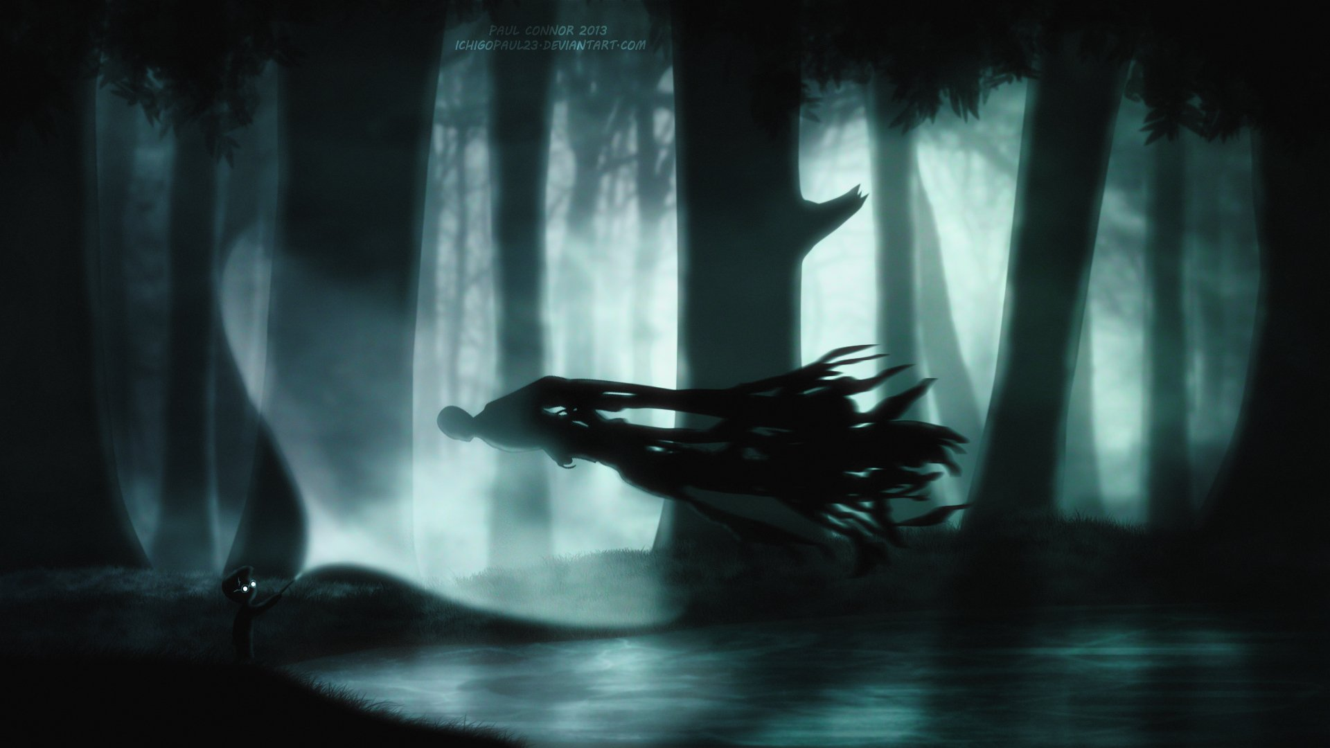 Video Game - Crossover  Limbo (Video Game) Harry Potter Wallpaper