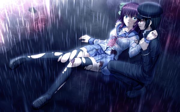 Anime Angel Beats! Yuri Nakamura Ayato Naoi HD Wallpaper | Background Image