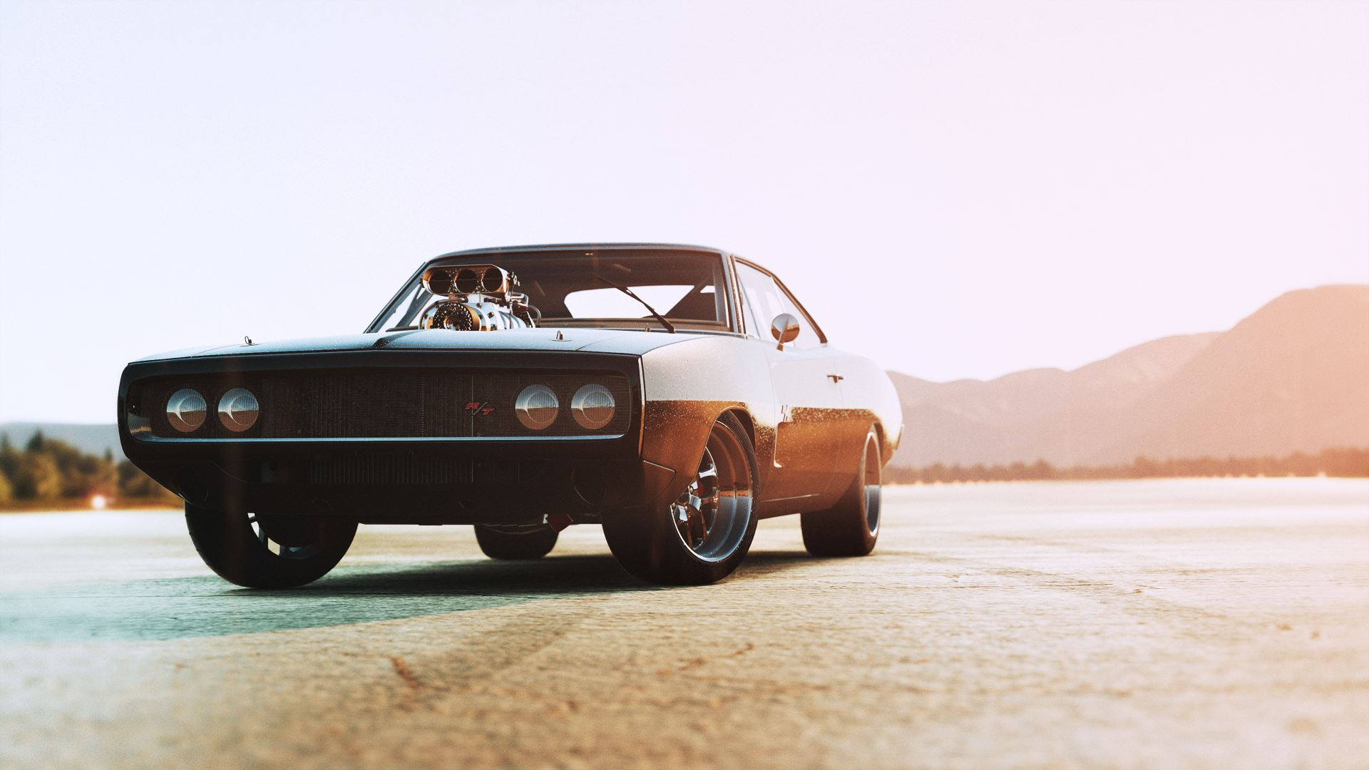 1970 Dodge Charger Rt Fast And Furious Edition Fond Décran Hd