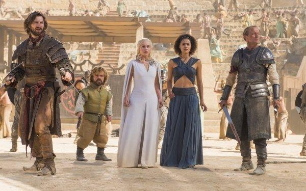 TV Show Game Of Thrones Daario Naharis Michiel Huisman Tyrion Lannister Peter Dinklage Emilia Clarke Daenerys Targaryen Jorah Mormont Iain Glen Nathalie Emmanuel Missandei HD Wallpaper | Background Image