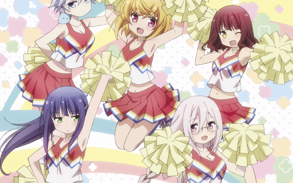 Anime Anne Happy Anne Hanakoizumi Botan Kumegawa Hibiki Hagyu Ren Ekoda Ruri Hibarigaoka HD Wallpaper   Background Image