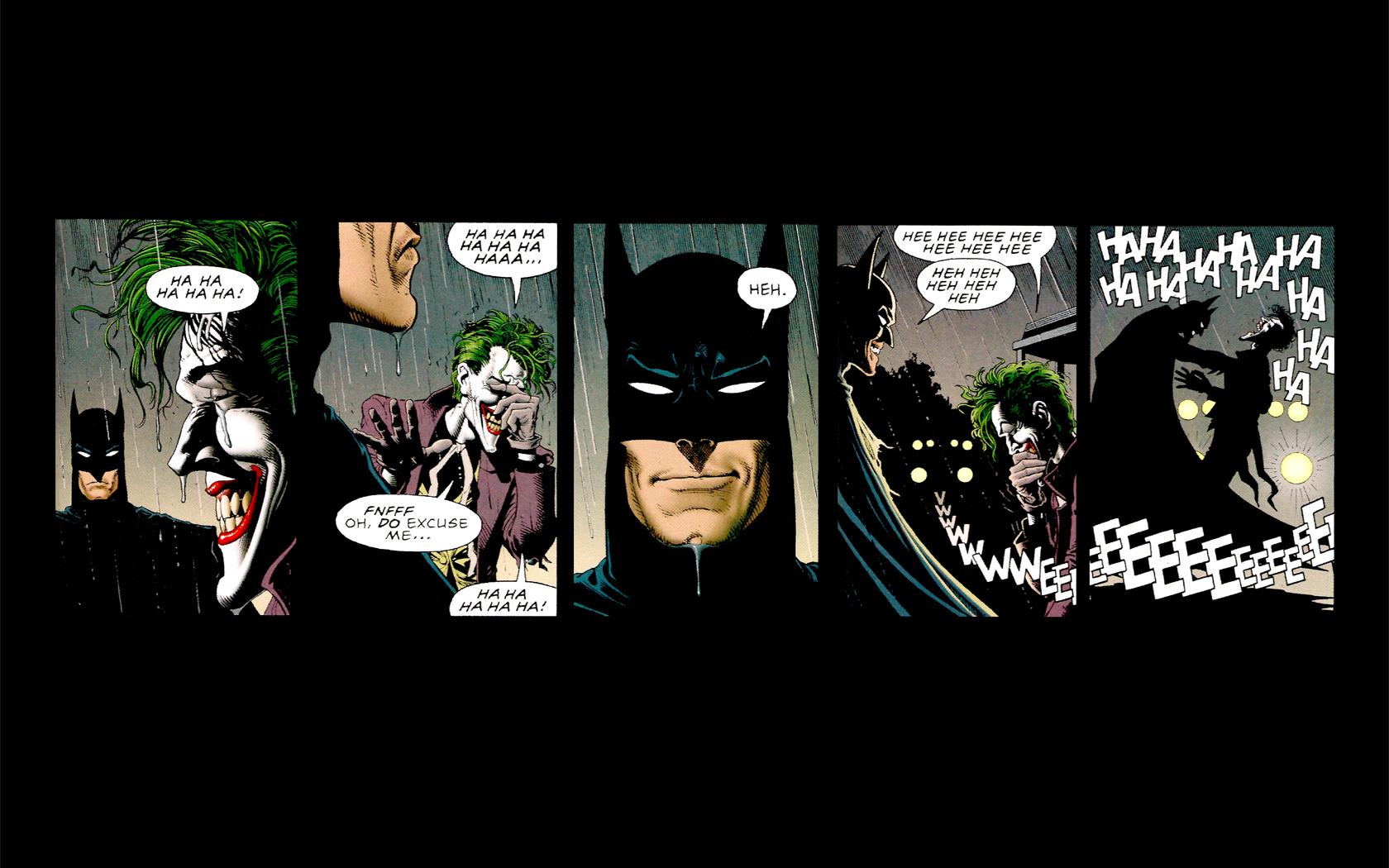 Comics - Batman  Joker Wallpaper