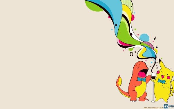 Anime Pokémon Pikachu Charmander HD Wallpaper | Background Image