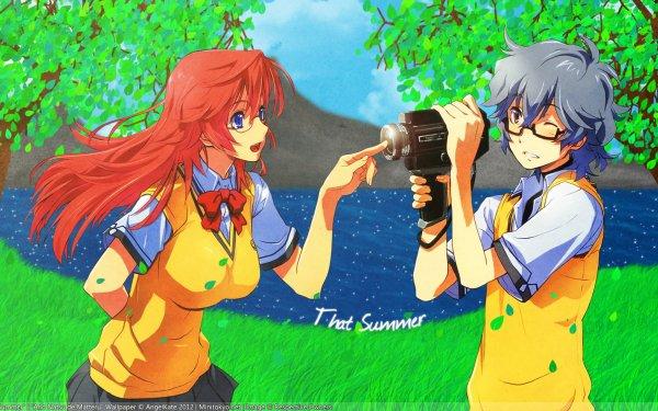 Anime Waiting in the Summer Ichika Takatsuki Kaito Kirishima HD Wallpaper | Background Image