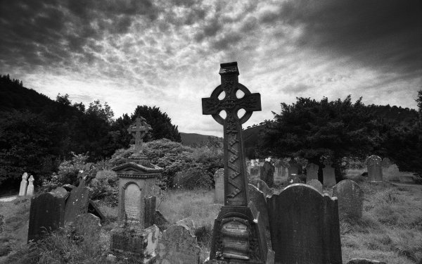Religious Cemetery Headstone HD Wallpaper   Background Image