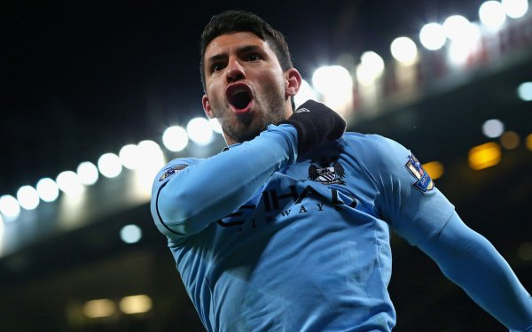 Sports Sergio Agüero Soccer Player Manchester City F.C. HD Wallpaper | Background Image