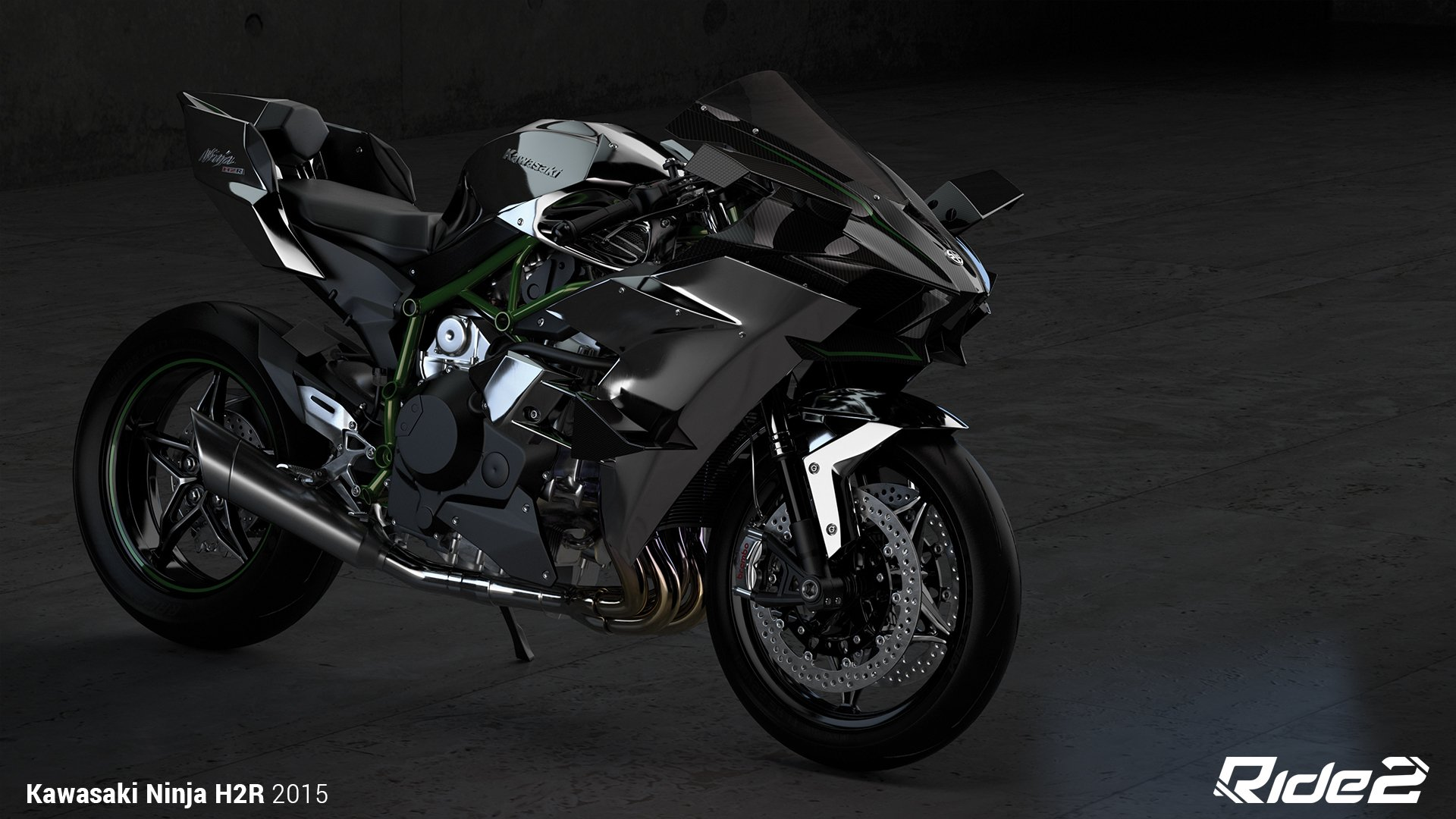 2015 Kawasaki Ninja H2R HD Wallpaper