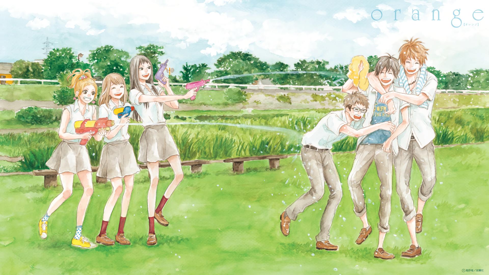 Image Result For Orange Manga Wallpapera