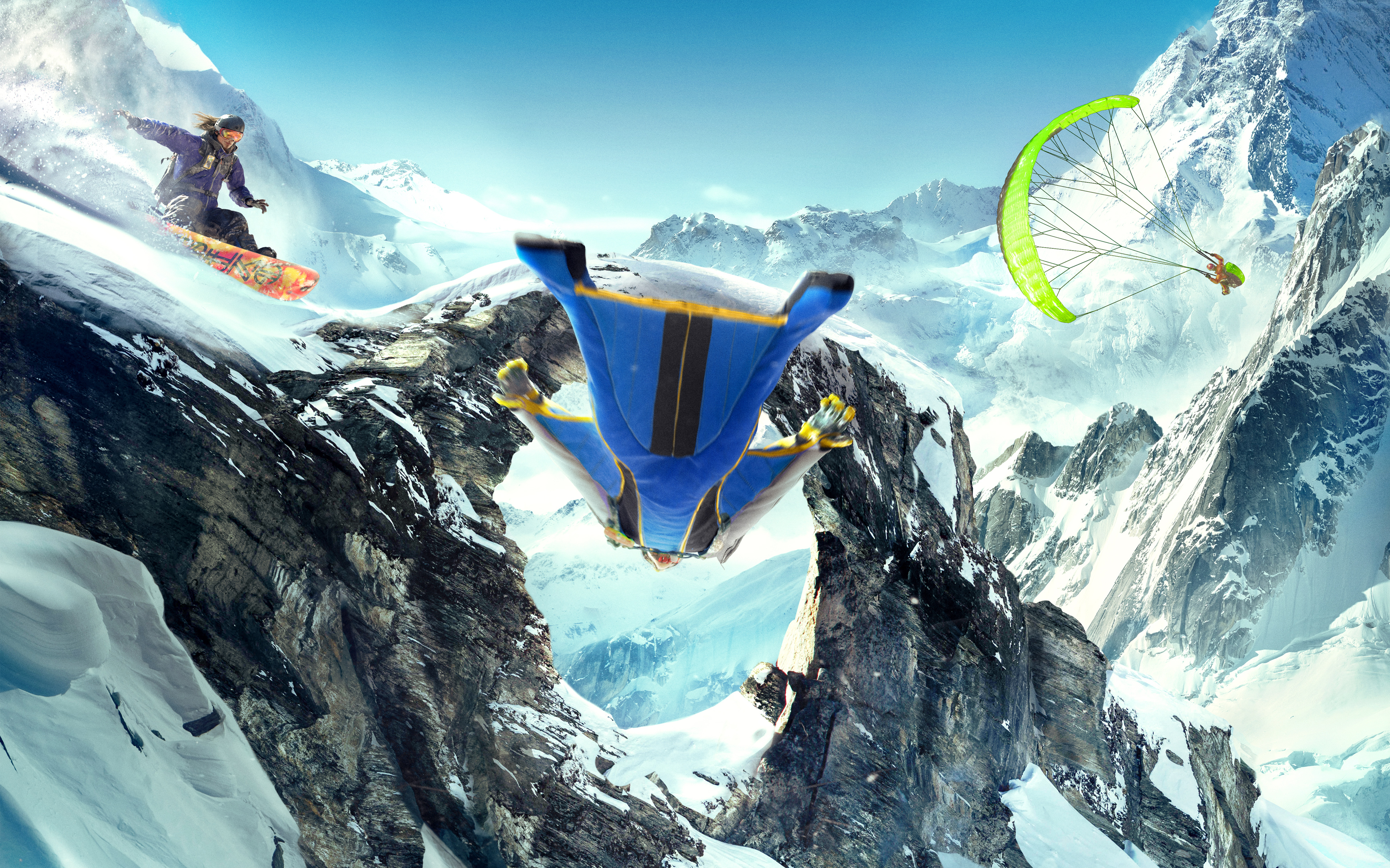 Steep 4k Ultra HD Wallpaper