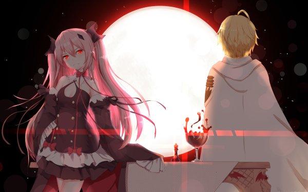 Anime Seraph of the End Krul Tepes Mikaela Hyakuya Vampire HD Wallpaper | Background Image