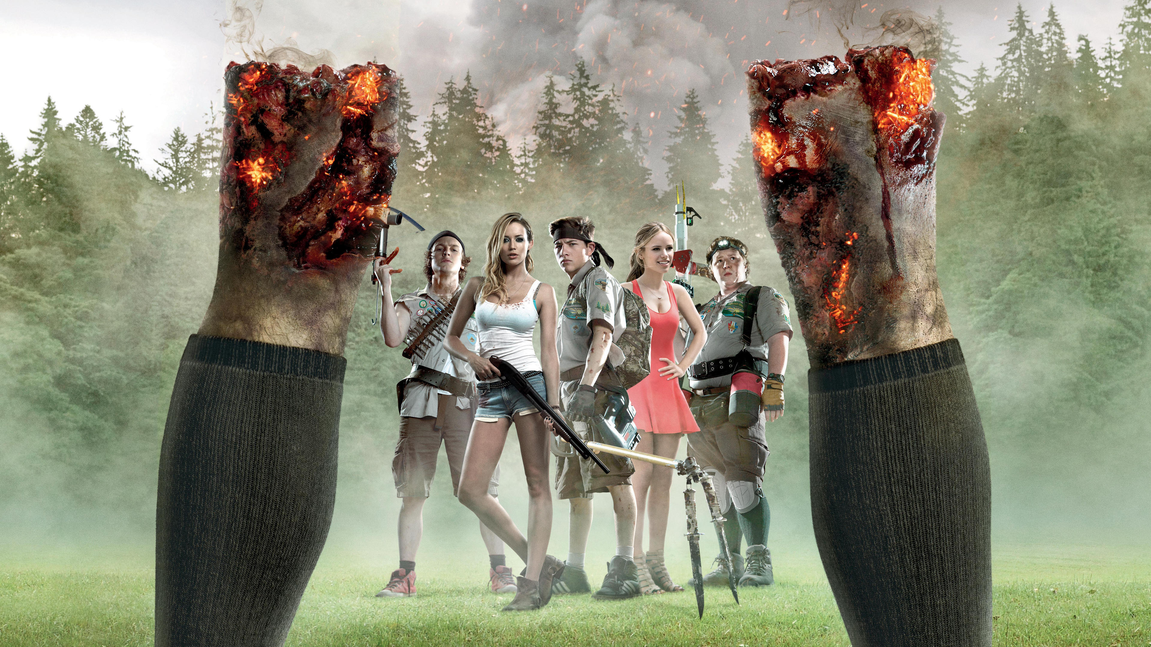 scouts guide to the zombie apocalypse 4k ultra hd