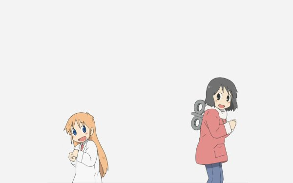 Anime Nichijō Hakase Nano Shinonome HD Wallpaper | Background Image