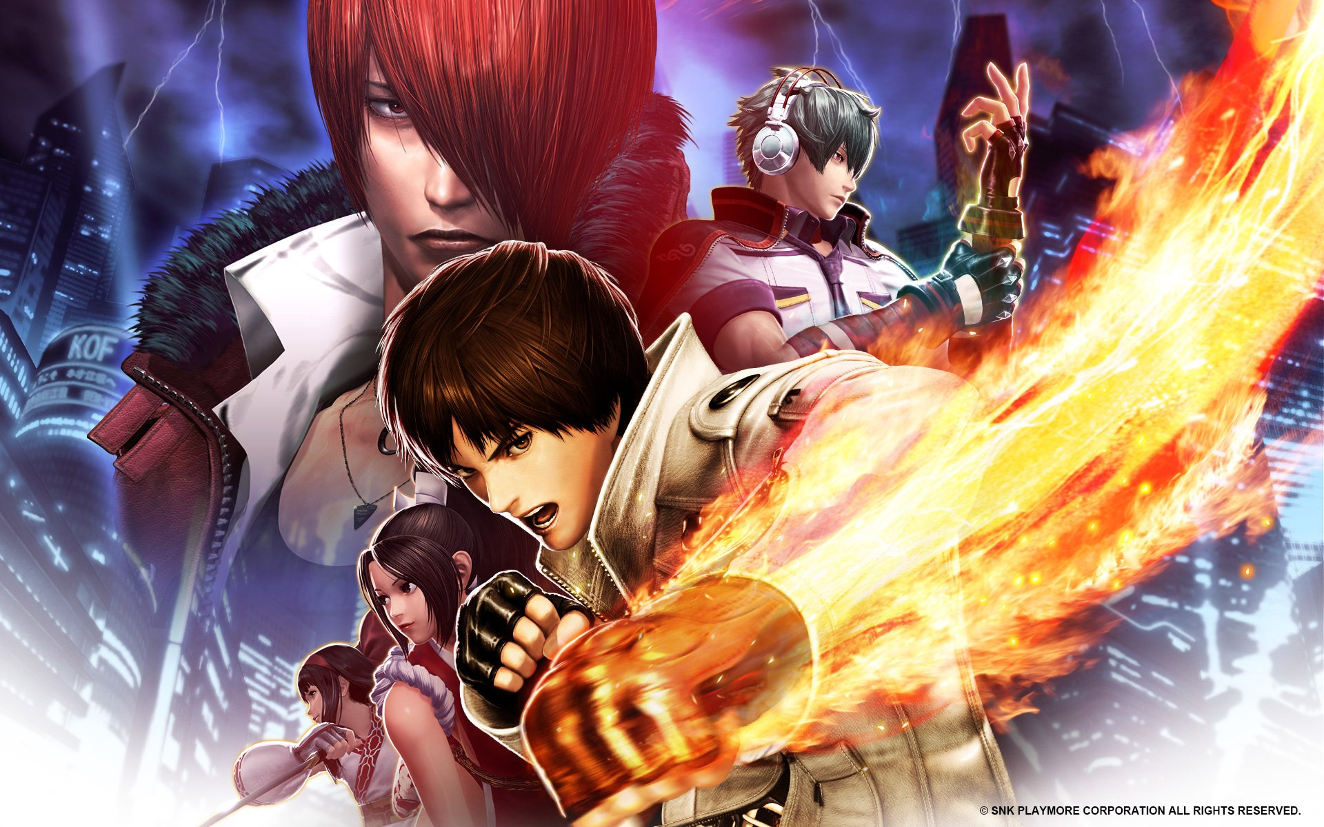 4 The King Of Fighters Xiv Hd Wallpapers Background Images
