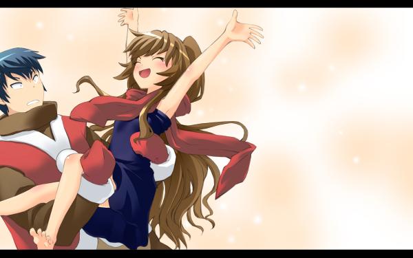 Anime Toradora! Ryuuji Takasu Taiga Aisaka HD Wallpaper | Background Image