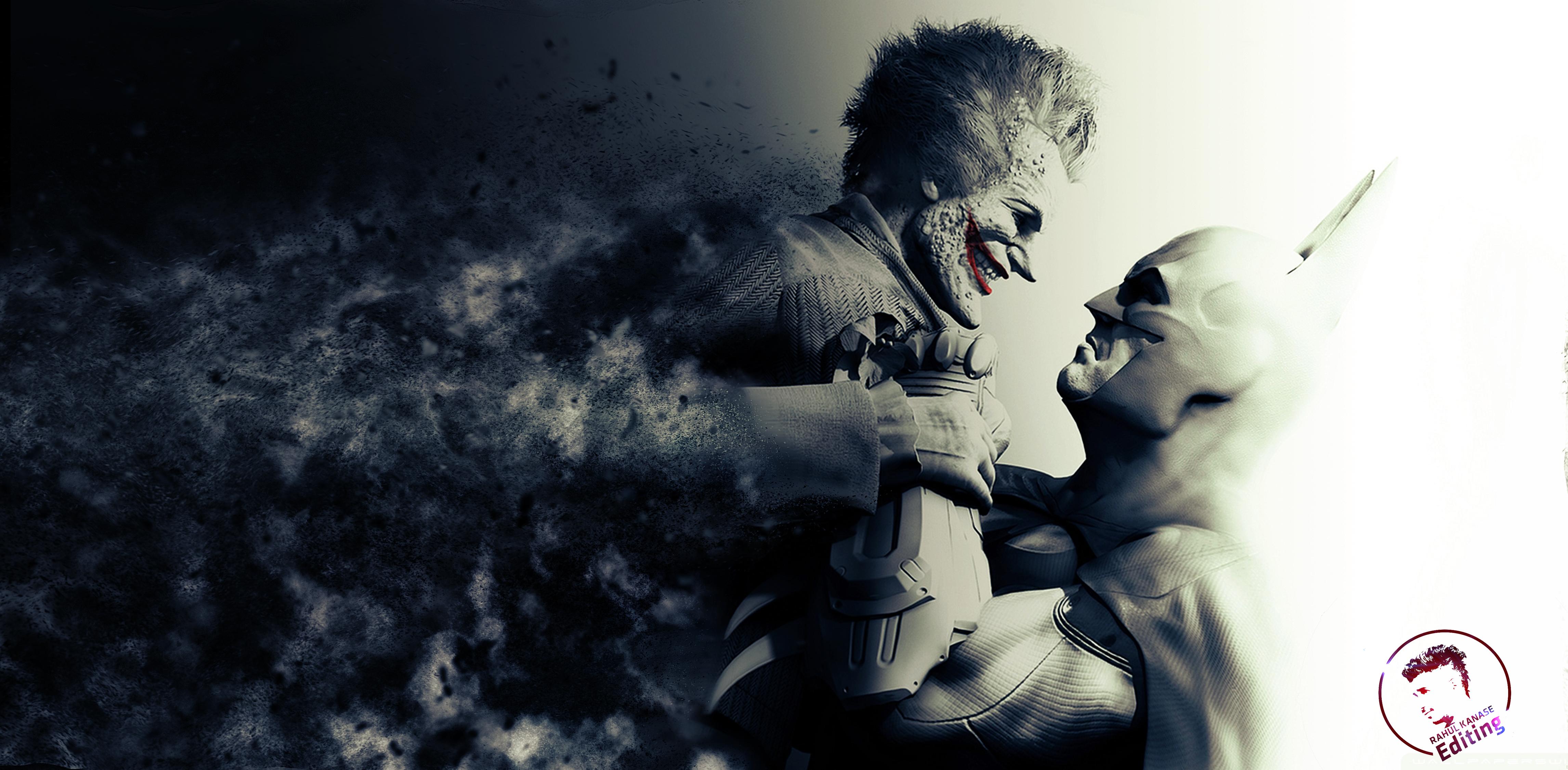 Batman arkham city 4k ultra hd wallpaper and background for Joker wallpaper 4k