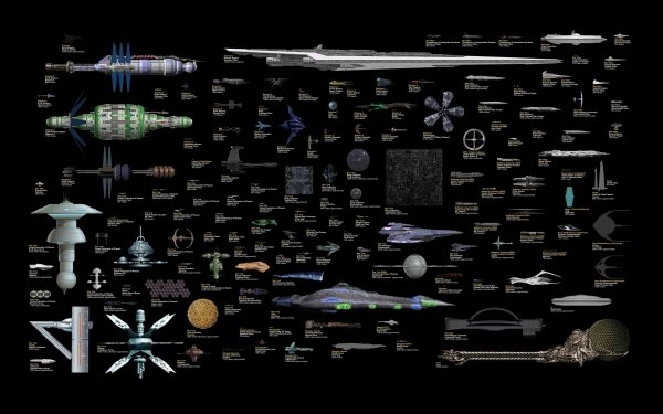 Sci Fi Spaceship Star Trek Babylon 5 Star Gate HD Wallpaper | Background Image