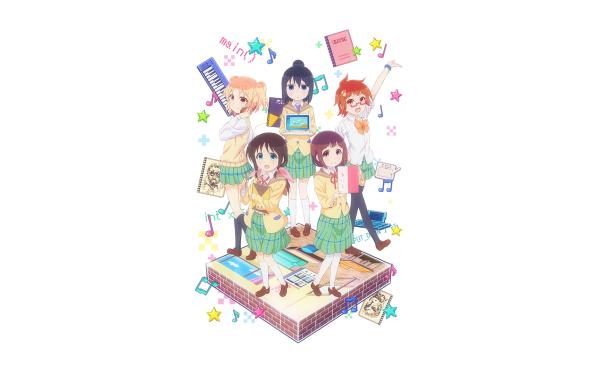 Anime Magic of Stella Ayame Seki Kayo Fujikawa Shiina Murakami Tamaki Honda Yumine Fuda Stella no Mahou HD Wallpaper   Background Image
