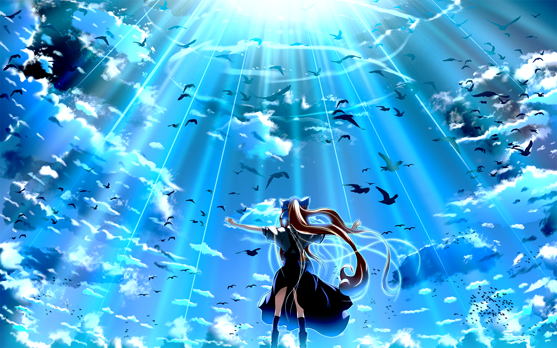 Air hd wallpaper background image 1920x1200 id - Fantasy wallpaper anime ...