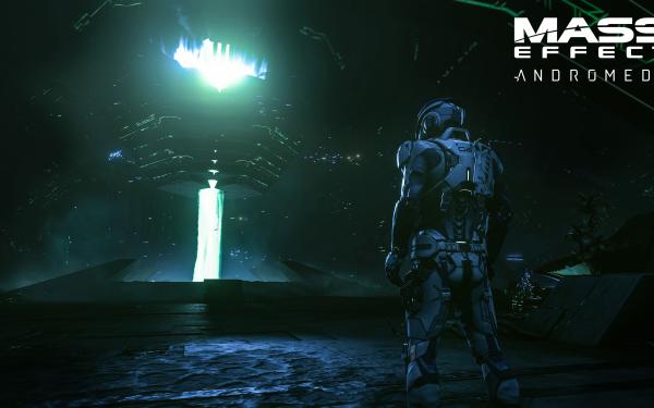 Jeux Vidéo Mass Effect: Andromeda Mass Effect Scott Ryder Fond d'écran HD | Image