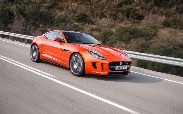 Véhicules Jaguar F-Type Jaguar Jaguar Cars Orange Car Sport Car Voiture Fond d'écran HD | Arrière-Plan