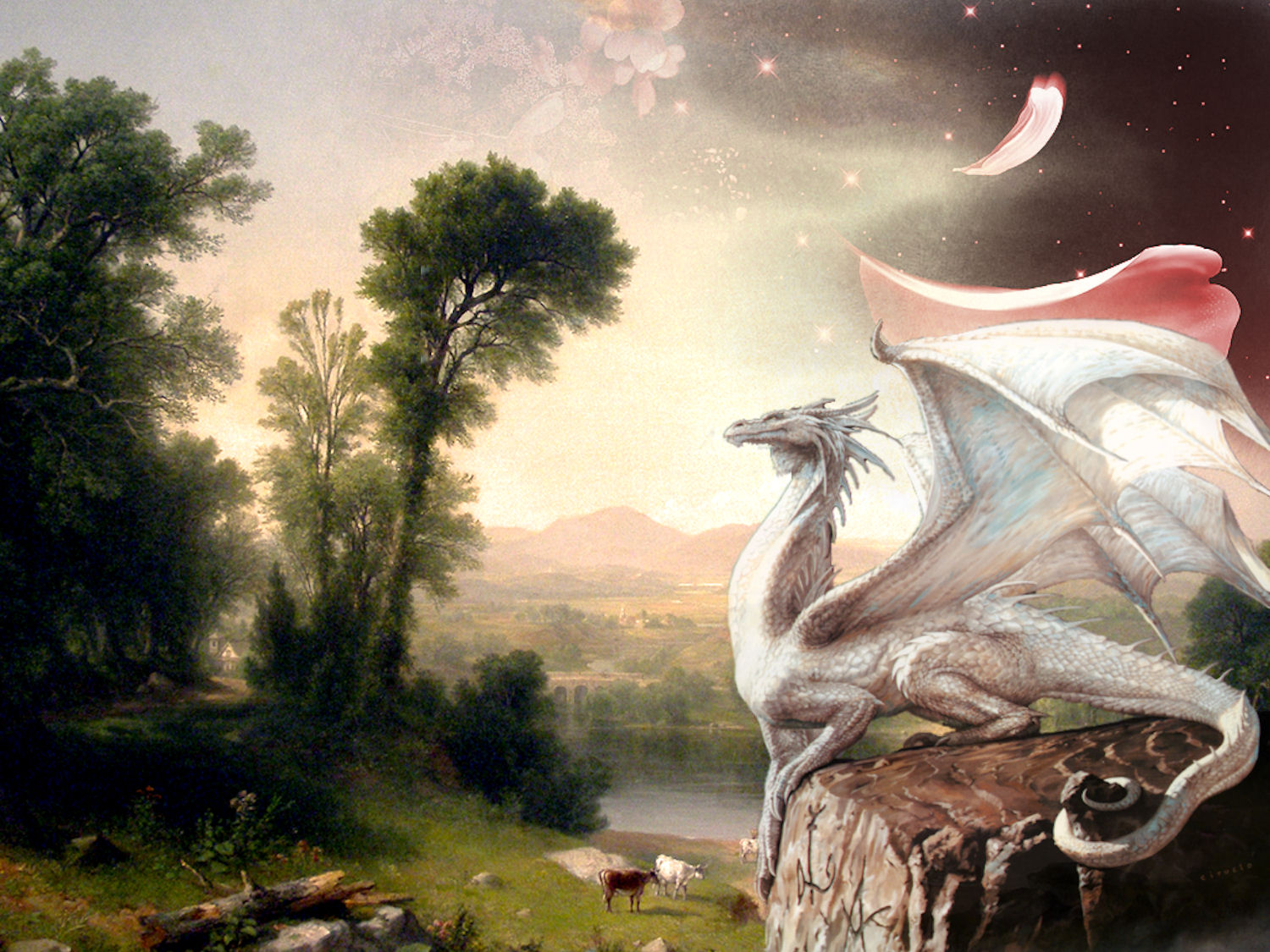 3 white dragon hd wallpapers backgrounds wallpaper abyss