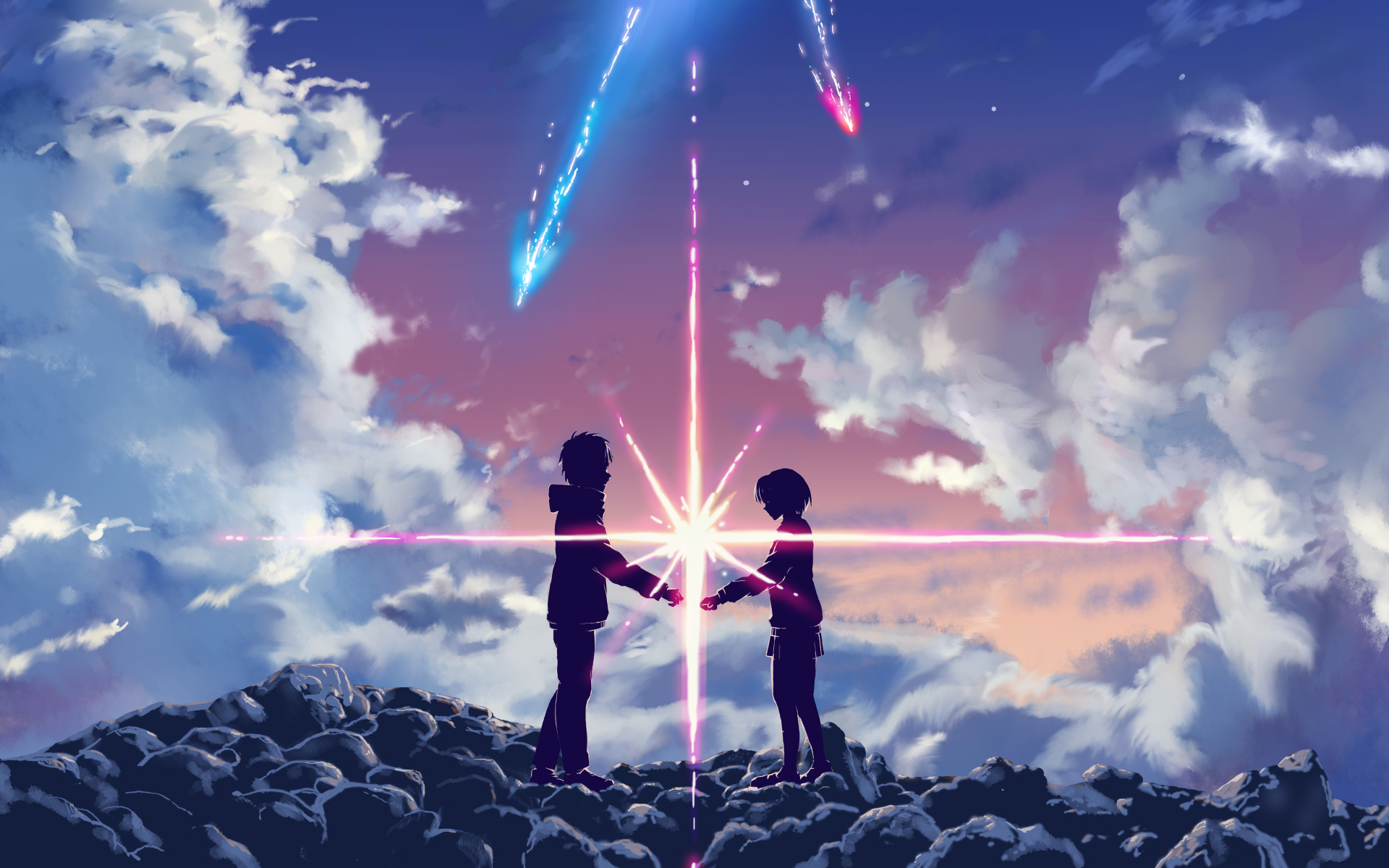 1085 Kimi No Na Wa Hd Wallpapers Background Images Wallpaper