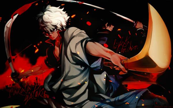 Anime Gintama Gintoki Sakata HD Wallpaper | Background Image