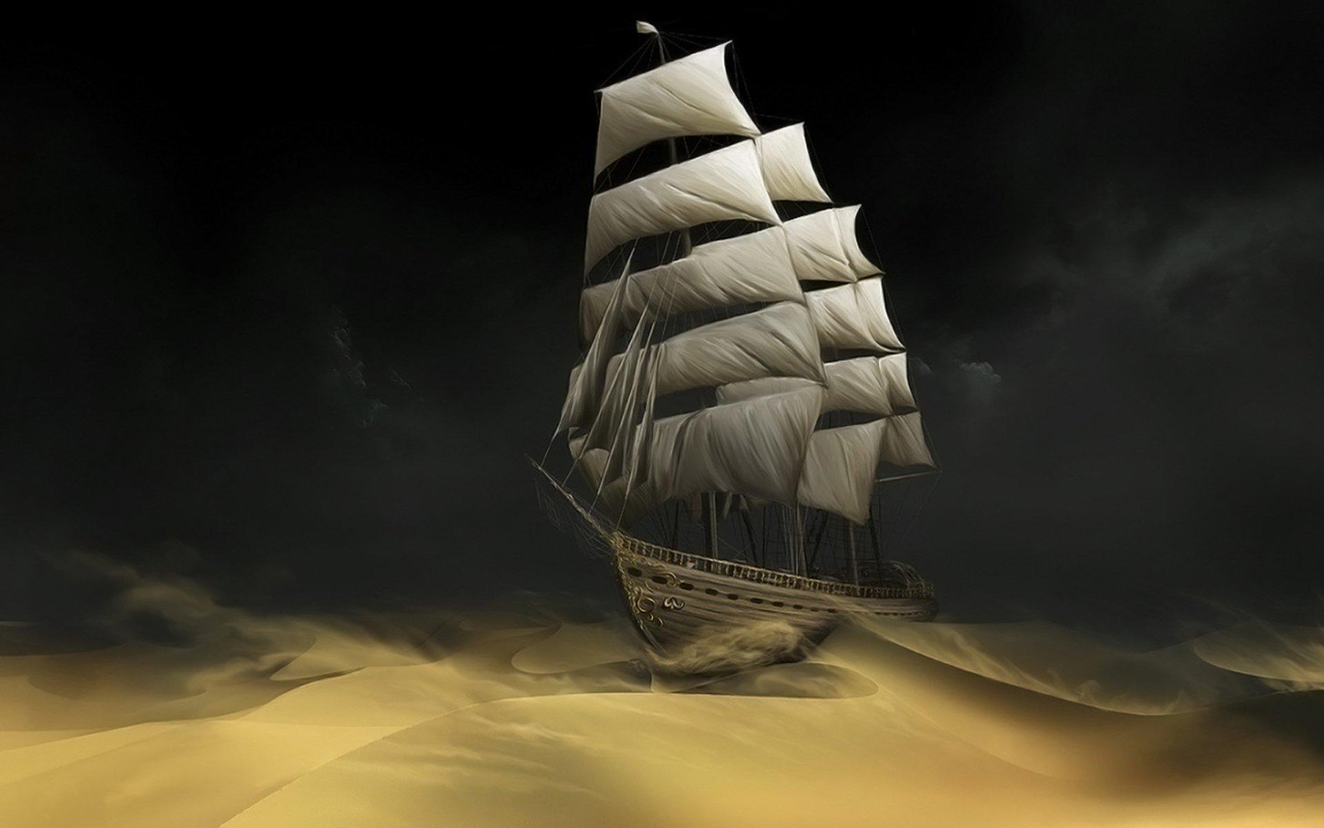 Художественные - Прочее  Корабль Обои