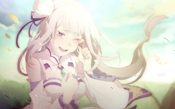Anime Re:ZERO -Starting Life in Another World- Emilia HD Wallpaper | Background Image