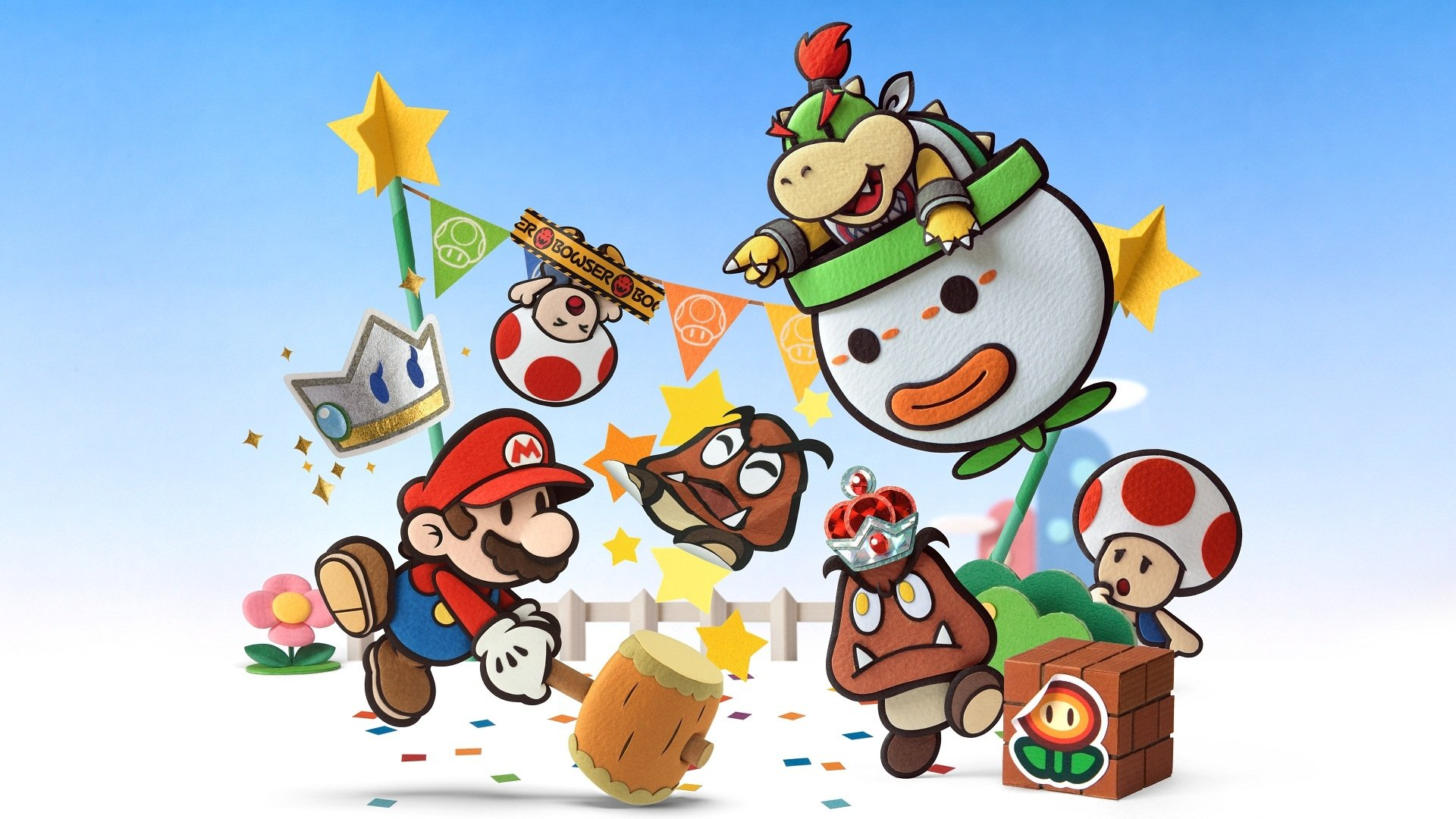 6 Paper Mario Sticker Star HD Wallpapers