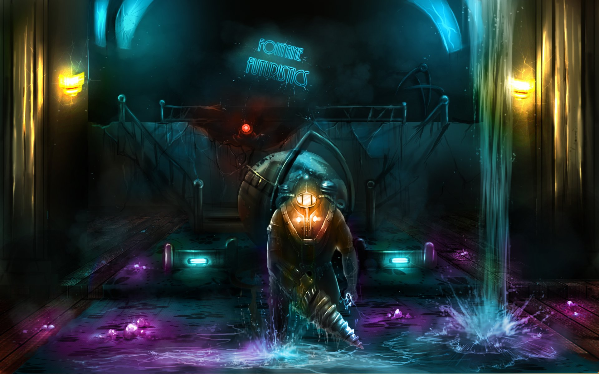 Video Game - Bioshock 2  Bioshock Video Game Wallpaper