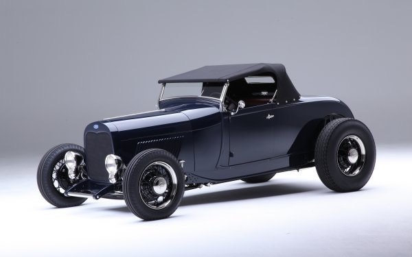 Vehicles Ford Roadster Ford 1929 Ford Roadster Hot Rod Vintage Car HD Wallpaper | Background Image