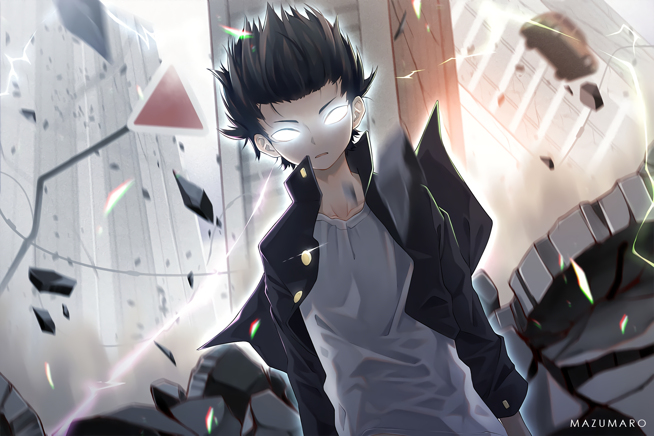 112 Mob Psycho 100 HD Wallpapers
