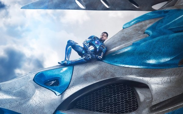Movie Power Rangers (2017) Power Rangers Blue Ranger Billy Cranston Zord HD Wallpaper | Background Image